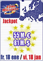 Winter Special with 84 M and 55 M in Euromillions