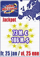 73 M in Euromillions