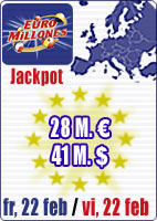 28 M euros in Euromillions