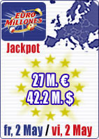 50.3 M euros in jackpots this week