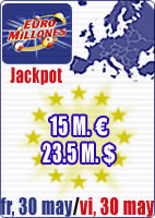 35.1 M euros in Jackpots this week