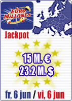 35.9 M euros in jackpots and June Special
