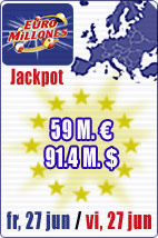 59 M euros in Euromillions