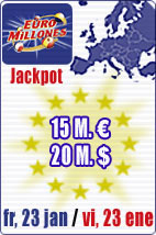 53.8 M euros in Jackpots this week