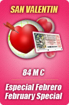 This week, February Special 84 M euros in prizes