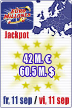 Almost 80 M euros in jackpots this week