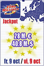 28 M euros in Euromillions and September Special