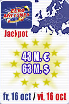 43 M euros in Euromillions